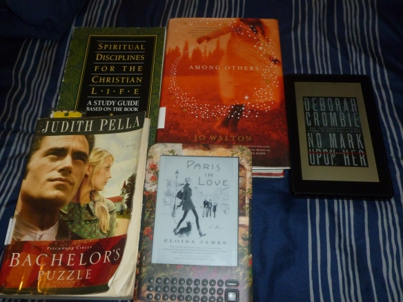 Christmas12-Jan. books 008