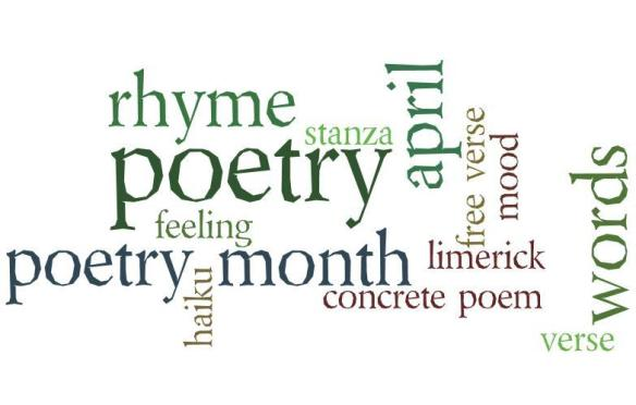 spring poetry wordle